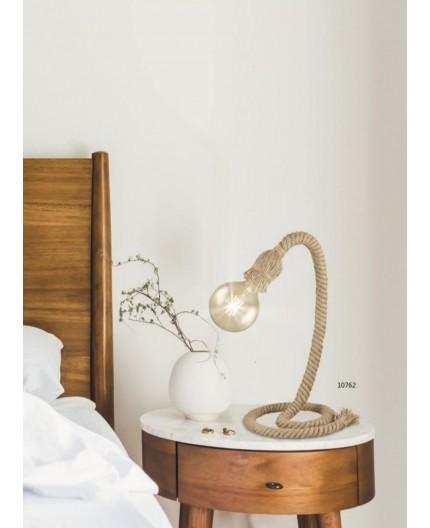 Lampade Da Comodino Corda Design Vintage Moderno Lorussolampadari It